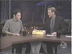 Craig gives Jon a phonebook b/c he's so short. This phonebook bit comes back in 2001 (click on image)