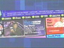 I remember the first time I got on the internet (Feb. 2000) the daily show site was the first one I went to, and it looked like that!