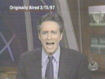 Funny thing about this, Jon wasn't even on Daily Show in 1997 (this was a mock anti-drug ad they did)