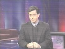The only reason why I made this screen cap is b/c I think Stephen Colbert is the only man that can pull that off...