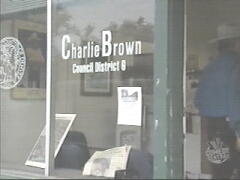 You gotta make jokes about someone named Charlie Brown...